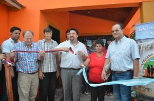 Closs entregó 16 viviendas rurales en Los Helechos
