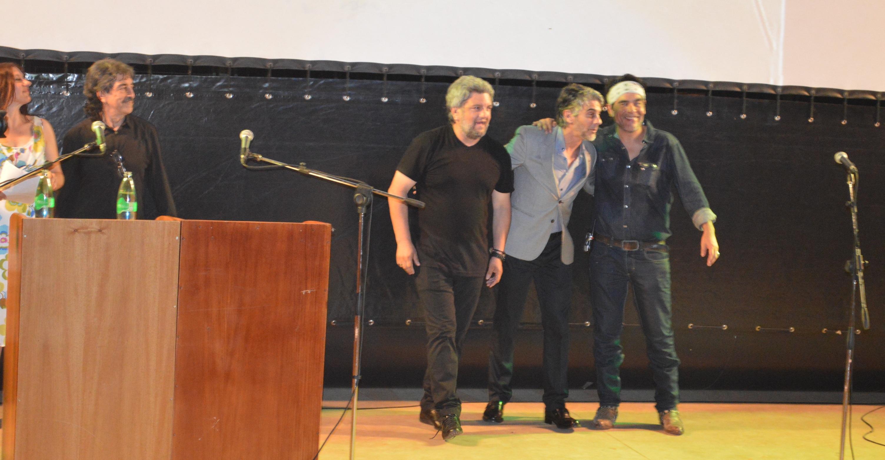 Una multitud encabezada por Pablo Echarri dejó inaugurado el Festival de Cine en las Tres Fronteras