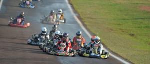 Karting: Se brindaron a pleno en el Rosamonte