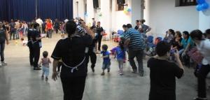 El jardín maternal Sueñitos, de la Policía, celebró el día de la Familia