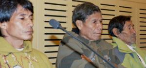 Comunidades guaraní manifestaron su apoyo al pedido de camino por dentro del Parque Moconá