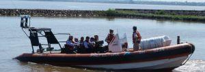 Tragedia del Paraná: realizaron la inspección ocular en distintos sectores del río