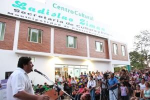 Closs inauguró obras en Puerto Esperanza y cerró el primer festival de cine Tres Fronteras en Iguazú