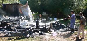 Una familia de Comandante Andresito perdió todo en un incendio