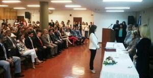 El ministro Franco acompañó la asunción y juramento de nuevos jueces y defensores