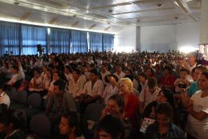 """Mil estudiantes secundarios se reunieron para reflexionar en el encuentro """"Sumo ideas, quiero cambios"""""""