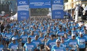 La maratón Argentina Corre se realiza hoy desde las 17 horas en el Brete