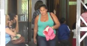 María Ovando se presentó al juzgado de Familia luego de ser denunciada por maltrato