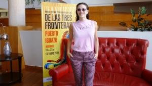 Emilia Attias invitó a los misioneros a disfrutar del Festival de Cine este mes