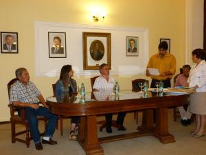 Se realizó la apertura de sobres para la compra de maquinaria vial para 10 municipios