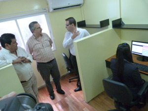 Passalacqua destacó que el centro de atención al cliente de EMSA es un beneficio para los misioneros