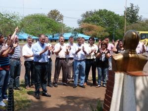 Dirigentes recordaron a Perón en el Día de la Lealtad