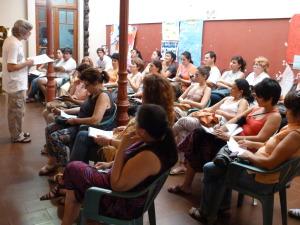 """El Padre Belgrano """"un sobreviviente del abuso sexual"""" dio una charla en Posadas"""