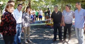 Con la de Gobernador López, el IPS sigue sumando plazas para fomentar hábitos saludables