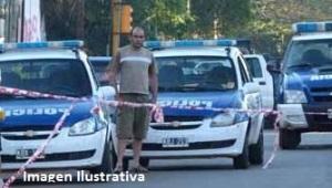 Anciano terminó internado tras un choque múltiple en Posadas