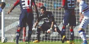 Chiquito Romero volvió a jugar en la Sampdoria