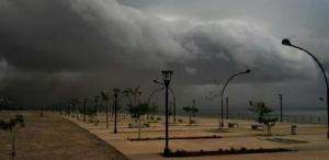 Advertencia Meteorológica por tormentas, granizo y rayos desde la noche de mañana, emitió la OPAD