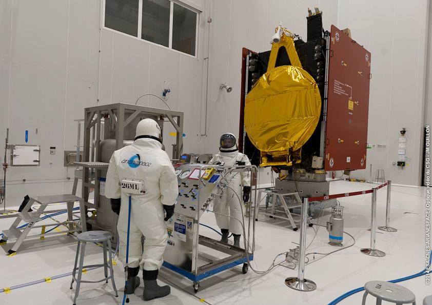 El año próximo Argentina tendrá dos satélites propios en órbita