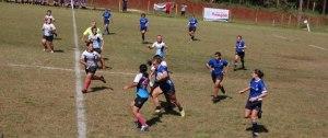 """Rugby femenino: Las """"Zorras"""" se quedaron con las ganas en La Plata"""