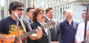 El Chango Spasiuk presente en promoción del Festival Nacional de la Música del Litoral