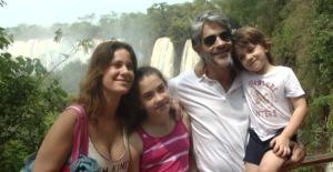 Los famosos del Festival de Cine de las Tres Fronteras, maravillados con Cataratas del Iguazú