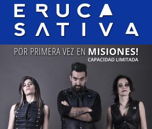 Eruca Sativa se presentará en Posadas el próximo 8 de noviembre