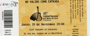 Las entradas para el Festival del Litoral ya pueden adquirirse por Internet