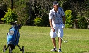 Golf: Viana fue el mejor en Puerto Mineral