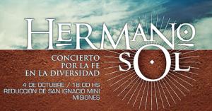 """Mañana desde las 18, """"Hermano Sol"""", concierto en la reducción de San Ignacio Miní"""