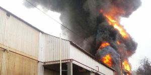Incendio en Dass: trabajan para reestablecer la energía en la planta