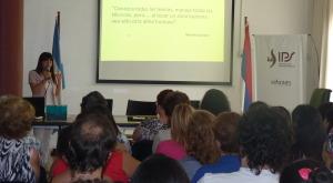 El IPS realizó taller para afiliados oncológicos