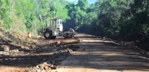 Concluyeron las obras de restauración y entoscado en la ruta Provincial 207