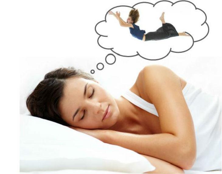 Sensación de caer en la cama