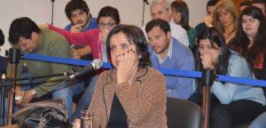 """Caso Mercol, el juicio: """"A mi hijo lo mató la violencia, la intolerancia y la arrogancia de Ruiz"""""""
