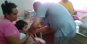 Cerca de 70 mil niños misioneros ya recibieron las dosis extras de las vacunas contra la rubéola, la poliomielitis y el sarampión