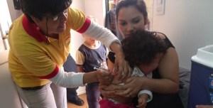 Más de 56 mil niños misioneros recibieron sus dosis extras de las vacunas contra el sarampión, la poliomielitis y la rubeóla