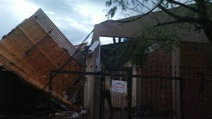 Tornado en San Vicente: tres aserraderos dañados