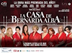 """Mañana en el Montoya """"La casa de Bernarda Alba"""". Participá del sorteo de entradas"""