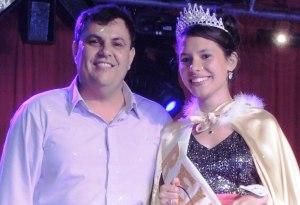 Santa Ana: María López es la flamante reina de la Fiesta Provincial de la Rapadura