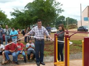 """San Pedro también tiene su """"Plaza Saludable"""""""