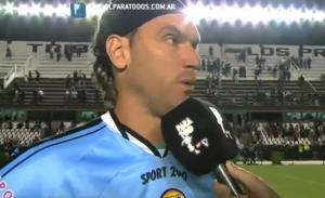 """Caffa, sin cassette: """"No jugamos bien, ya con Unión bajamos el nivel, hay que levantar"""""""
