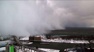 Un video que captura la terrible tormenta de nieve en Buffalo