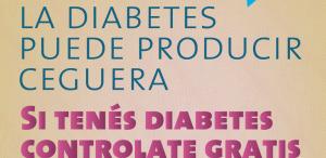 Campaña nacional gratuita de prevención de ceguera por diabetes