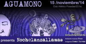 """Aguamono presenta su disco """"Noche Lanza Llamas"""" en Posadas"""