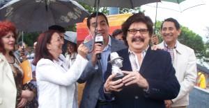 Impusieron el nombre de Ramón Ayala a la platea del anfiteatro Manuel Antonio Ramírez y dieron a conocer la grilla para el Festival del Litoral