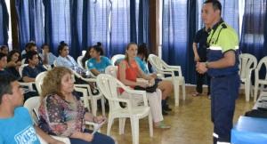 En Eldorado brindan charlas de educación y seguridad vial para escuelas públicas y privadas