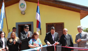 Closs inauguró el primer juzgado de Paz en Colonia Polana