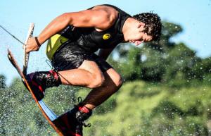 Comenzó la Copa Argentina de Wakeboard: Adrenalina y rock