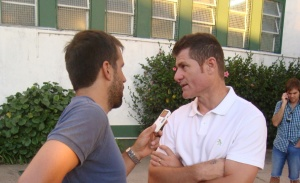"""Gabriel Schurrer: """"las cosas pueden salir mejor o peor, pero hoy el equipo dejó todo"""""""