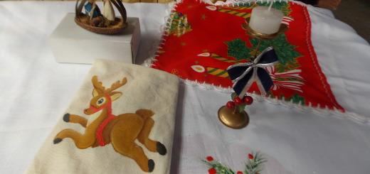 Emprendedores del Mercado Concentrador presentan adelantos en artículos navideños